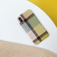 thumb-Apple Iphone XS Vintage telefoonhoesje - Geel-2