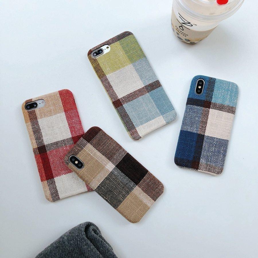 Apple Iphone X Vintage telefoonhoesje - Geel-4