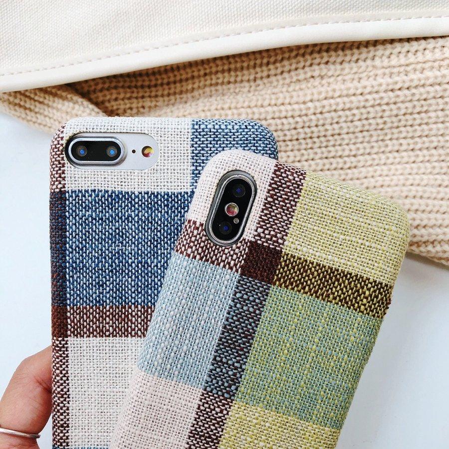 Apple Iphone 8 Plus Vintage telefoonhoesje - Blauw-3