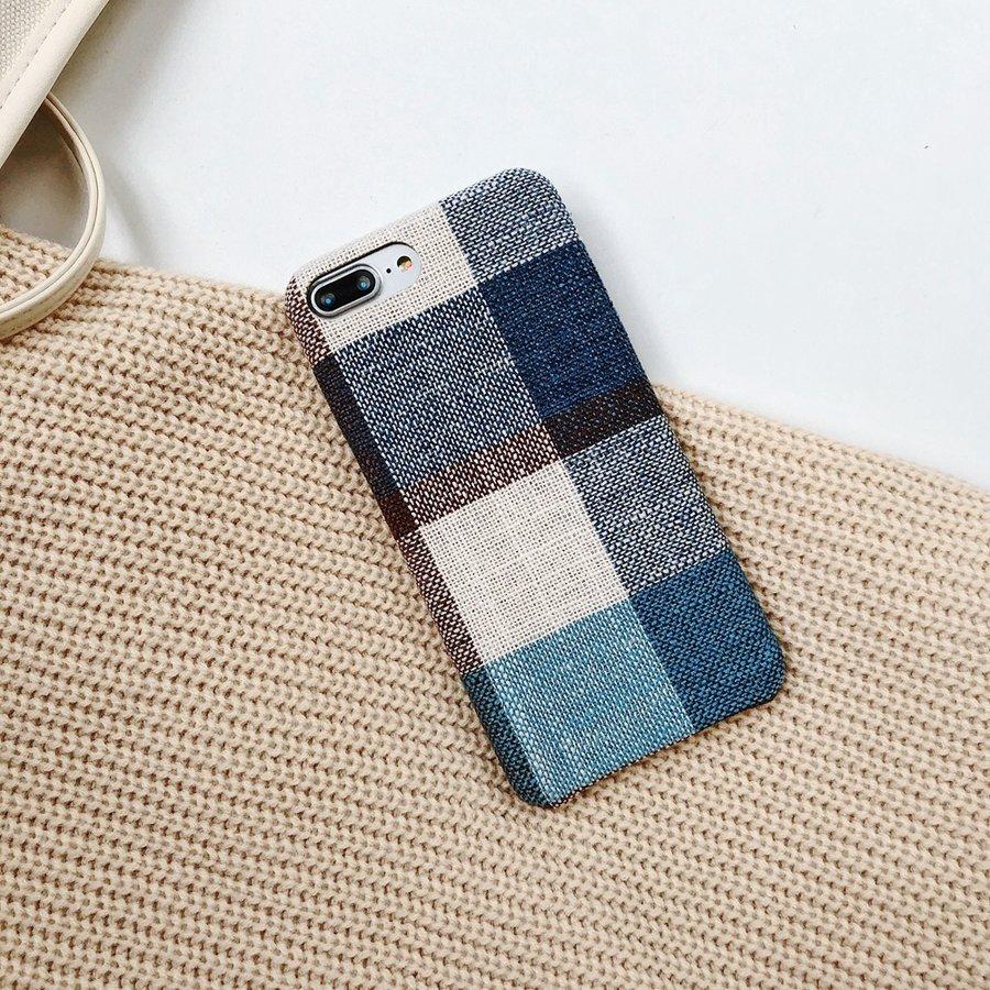 Apple Iphone 8 Plus Vintage telefoonhoesje - Blauw-4