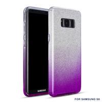 Samsung S8 Semi Glitter telefoonhoesje - Paars