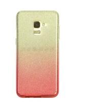 Samsung A5 Semi Glitter telefoonhoesje - Rood