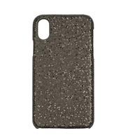 Apple Iphone XS Bling telefoonhoesje - Zwart