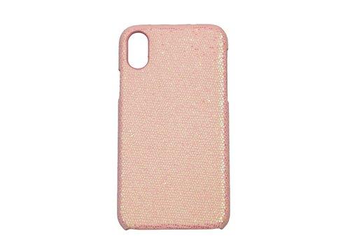 Apple Iphone XS Bling telefoonhoesje - Roze
