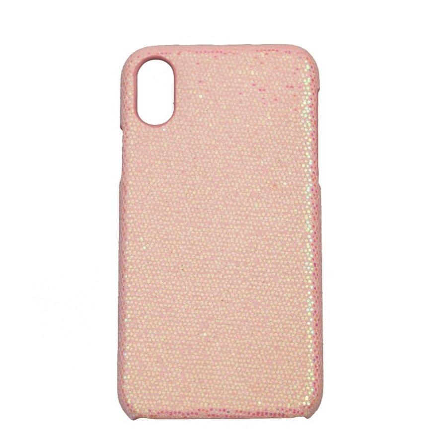 Apple Iphone XS Bling telefoonhoesje - Roze-1