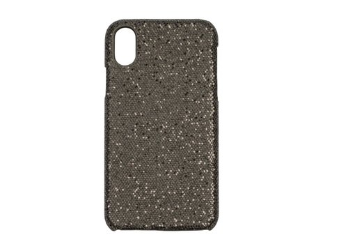 Apple Iphone X Bling telefoonhoesje - Zwart