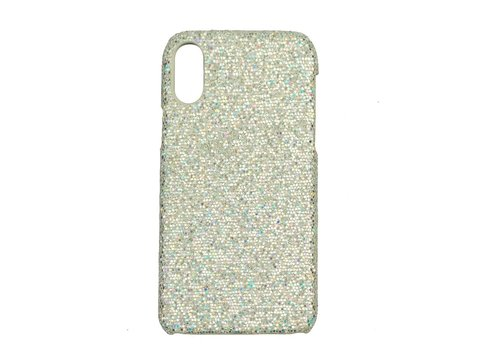 Apple Iphone X Bling telefoonhoesje - Zilver