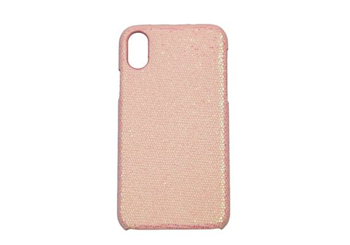 Apple Iphone XS Max Bling telefoonhoesje - Roze