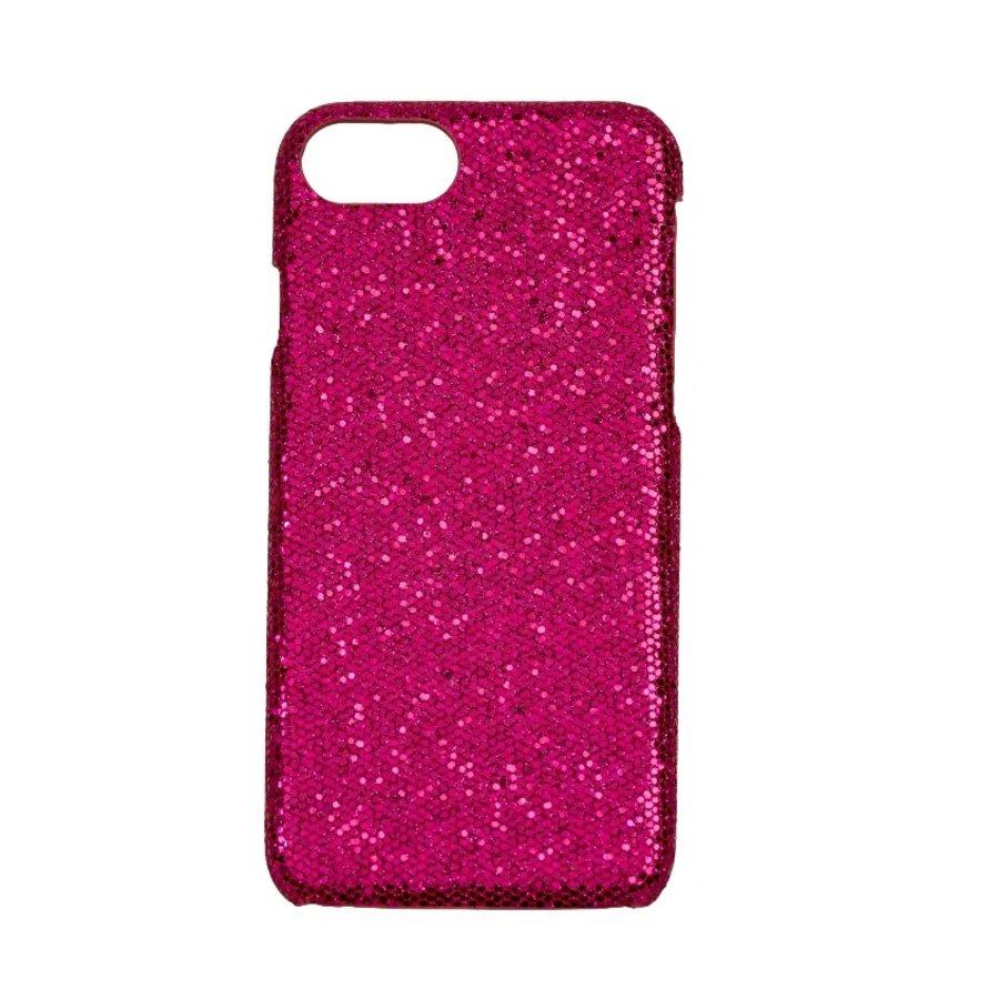 Apple Iphone 8 Bling telefoonhoesje - Paars-1
