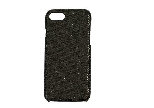 Apple Iphone 8 Bling telefoonhoesje - Zwart