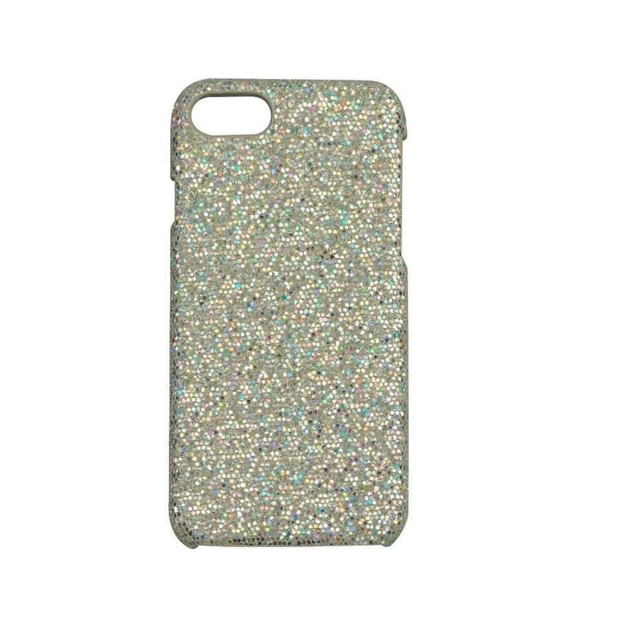 Apple Iphone 8 Bling telefoonhoesje - Zilver-1