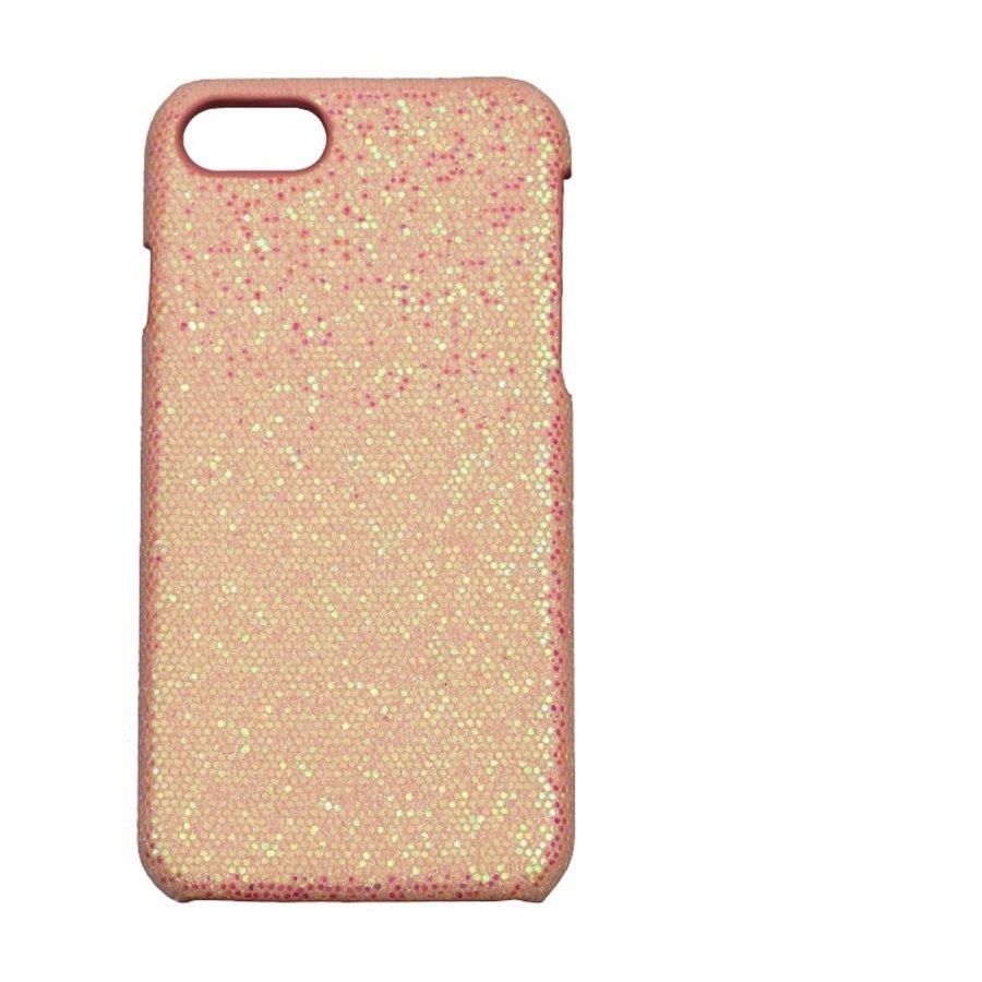 Apple Iphone 8 Bling telefoonhoesje - Roze-1