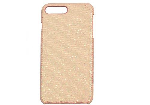 Apple Iphone 8 Plus Bling telefoonhoesje - Roze