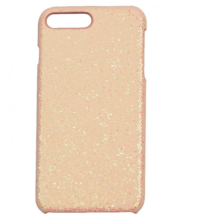 Apple Iphone 8 Plus Bling telefoonhoesje - Roze-1