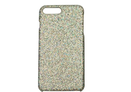 Apple Iphone 8 Plus bling telefoonhoesje - Zilver