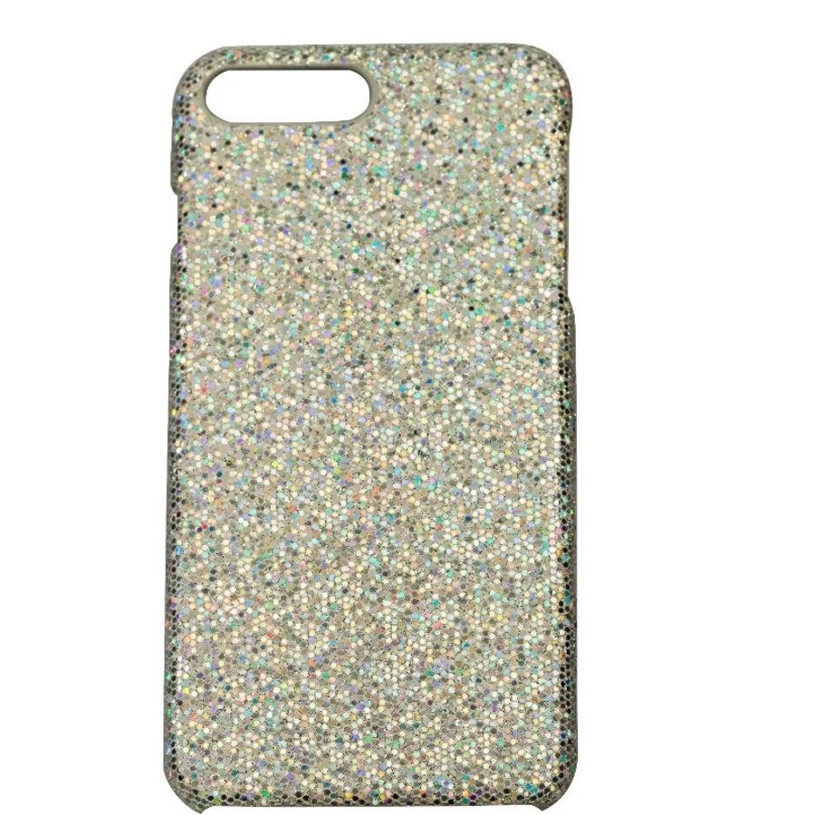 Apple Iphone 8 Plus bling telefoonhoesje - Zilver-1