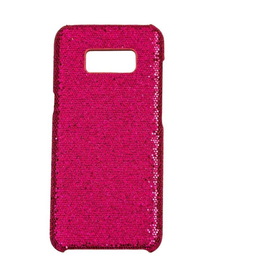 Samsung S8 Bling telefoonhoesje - Paars-1