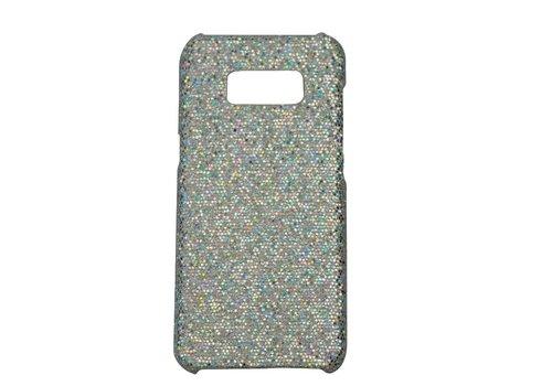 Samsung S8 Bling telefoonhoesje - Zilver