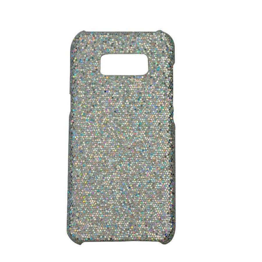 Samsung S8 Bling telefoonhoesje - Zilver-1