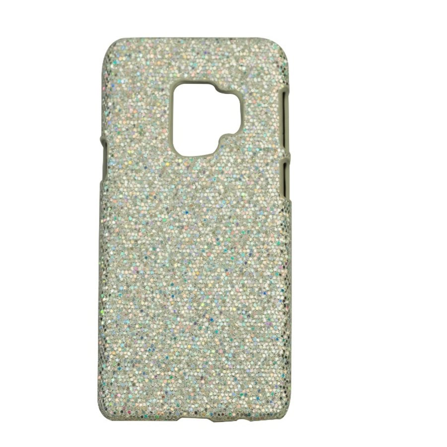 Samsung S9 Bling telefoonhoesje - Zilver-1
