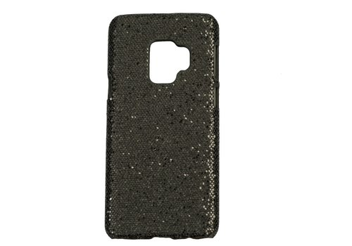 Samsung S9 Bling telefoonhoesje - Zwart