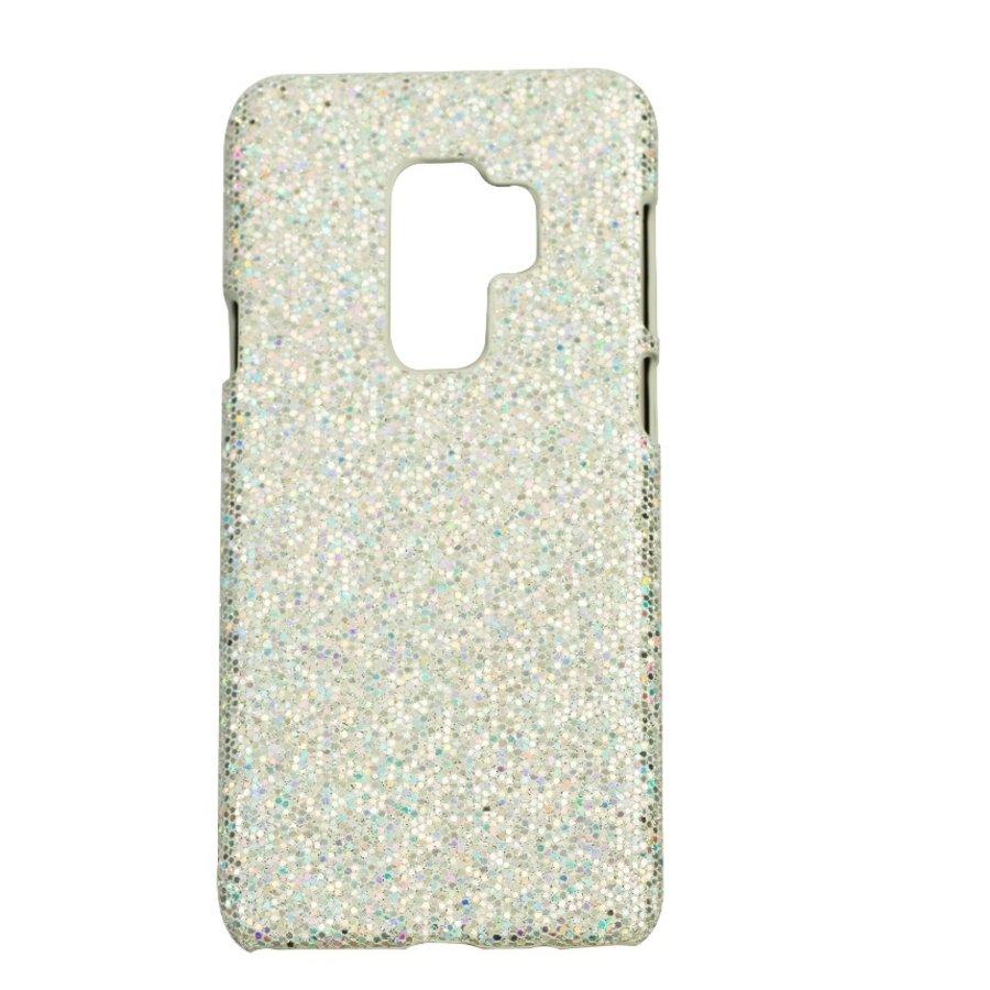 Samsung S9 Plus Bling telefoonhoesje - Zilver-1