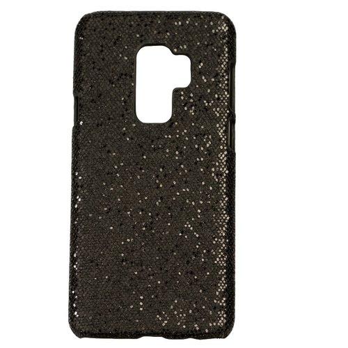 Samsung S9 Plus Bling telefoonhoesje - Zwart