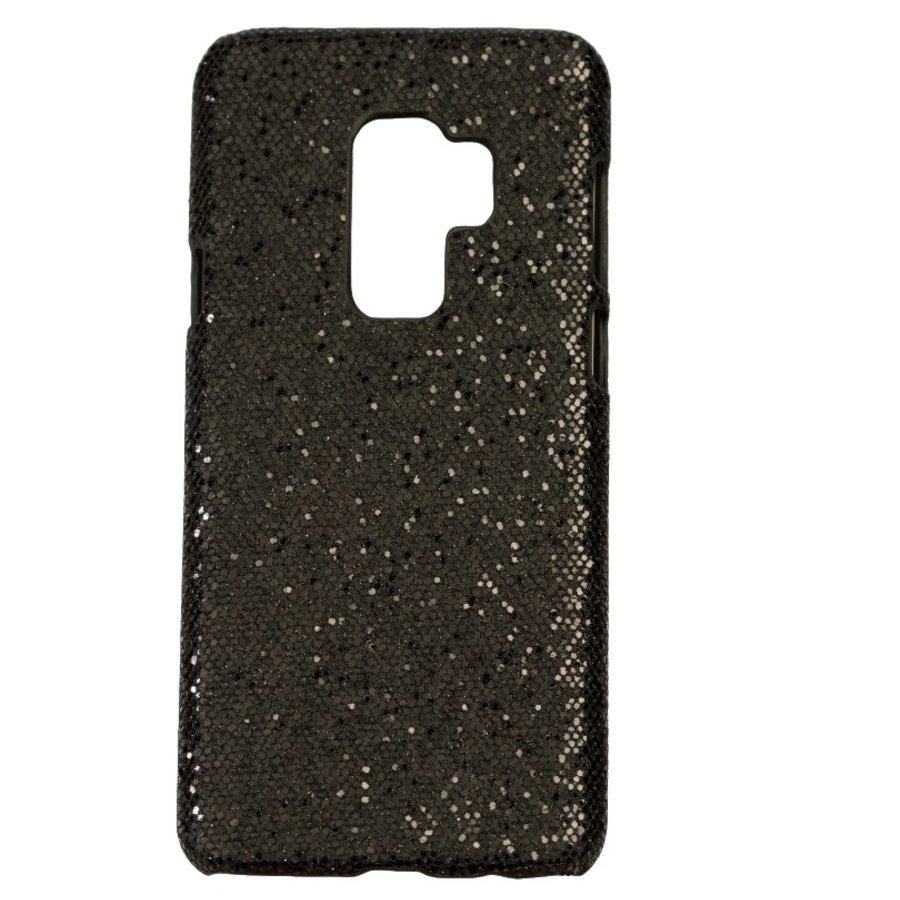 Samsung S9 Plus Bling telefoonhoesje - Zwart-1