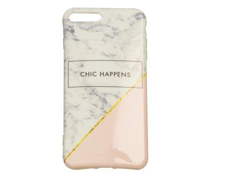 Apple Iphone 8 Plus Chic Happens telefoonhoesje