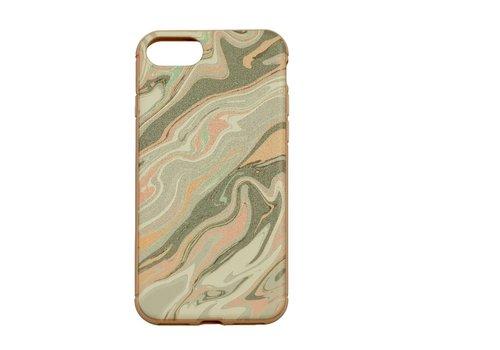 Apple Iphone 8 Confussion telefoonhoesje - Roze