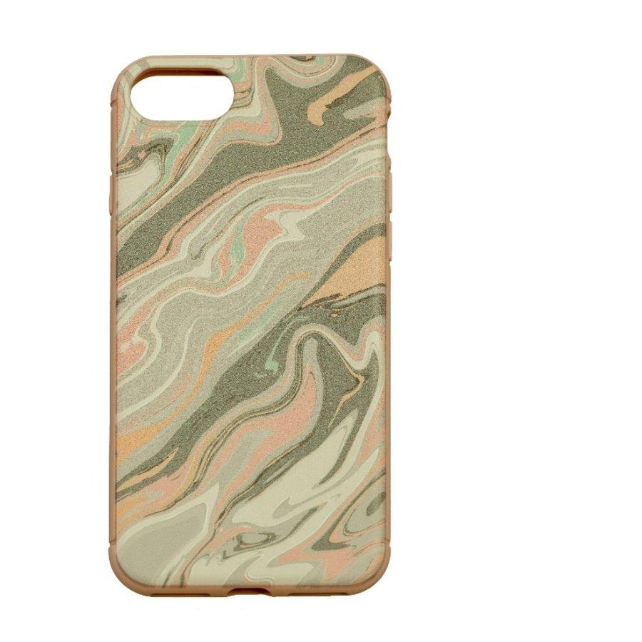 Apple Iphone 8 Confussion telefoonhoesje - Roze-1