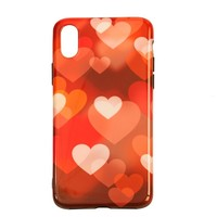 Apple Iphone X Hearts telefoonhoesje