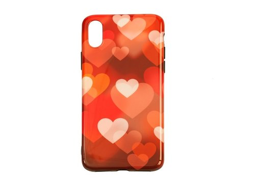 Apple Iphone XS Hearts telefoonhoesje