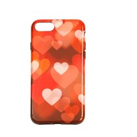 Apple Iphone 8 Plus Hearts telefoonhoesje