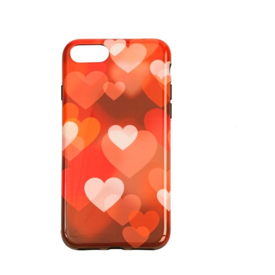 Apple Iphone 8 Plus Hearts telefoonhoesje-1