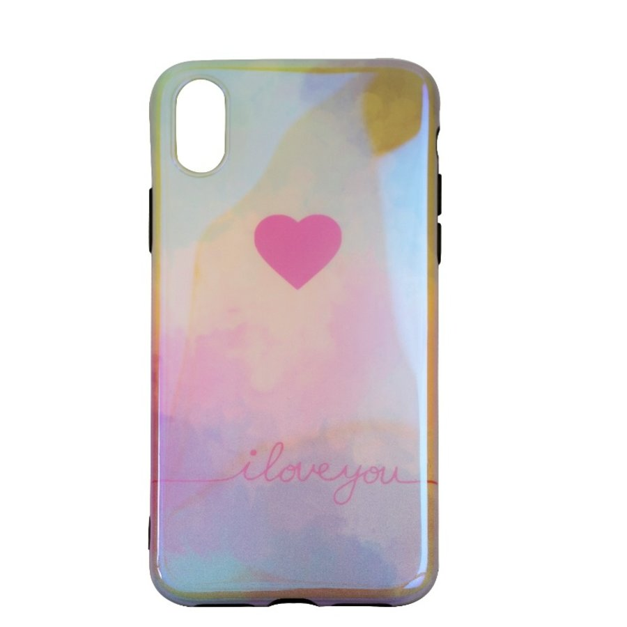 Apple Iphone XS I love you telefoonhoesje-1