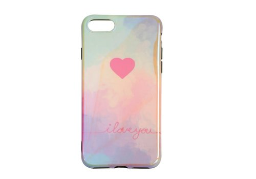 Apple Iphone 8 Plus I love you telefoonhoesje