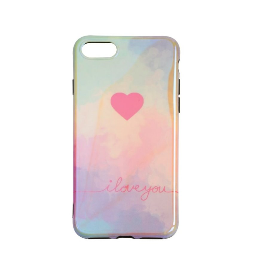 Apple Iphone 8 Plus I love you telefoonhoesje-1