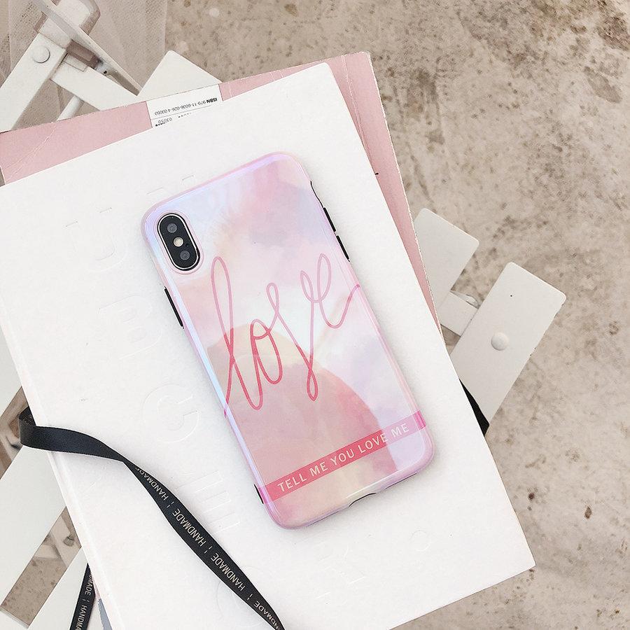 Apple Iphone X Love telefoonhoesje-2