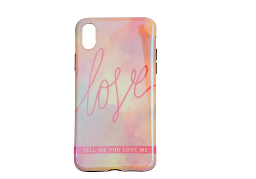 Apple Iphone XS Love telefoonhoesje
