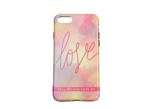 Apple Iphone 8 Plus Love telefoonhoesje