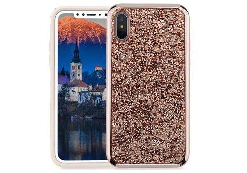 Apple Iphone X Shiny stone telefoonhoesje