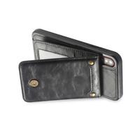 thumb-Apple Iphone XS Max Leer flip telefoonhoesje-2