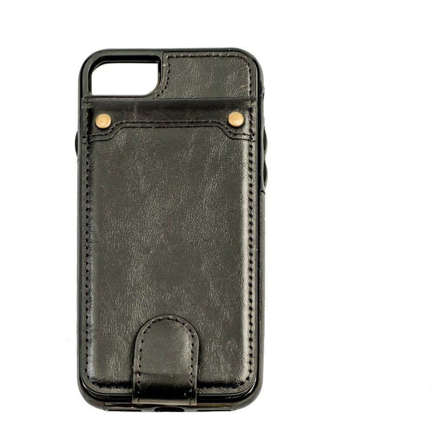 Apple Iphone 8 Leer flip telefoonhoesje-1
