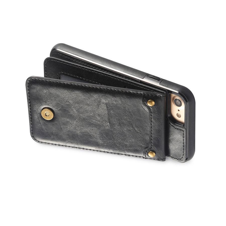Apple Iphone 8 Leer flip telefoonhoesje-2