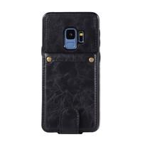 thumb-Samsung S9 Plus Leer flip telefoonhoesje-1