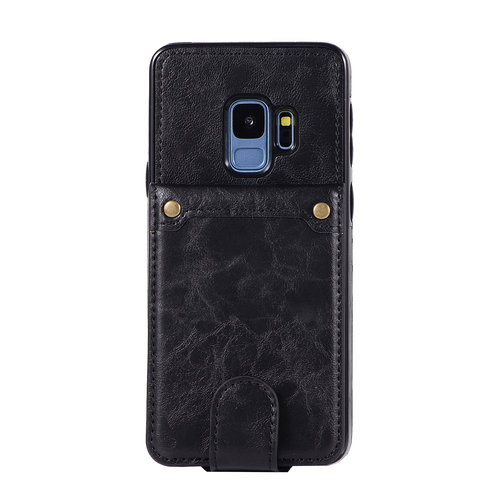 Samsung S9 Plus Leer flip telefoonhoesje