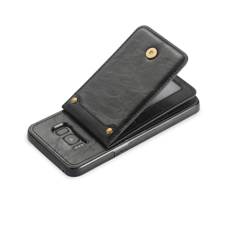 Samsung S8 Leer flip telefoonhoesje-3