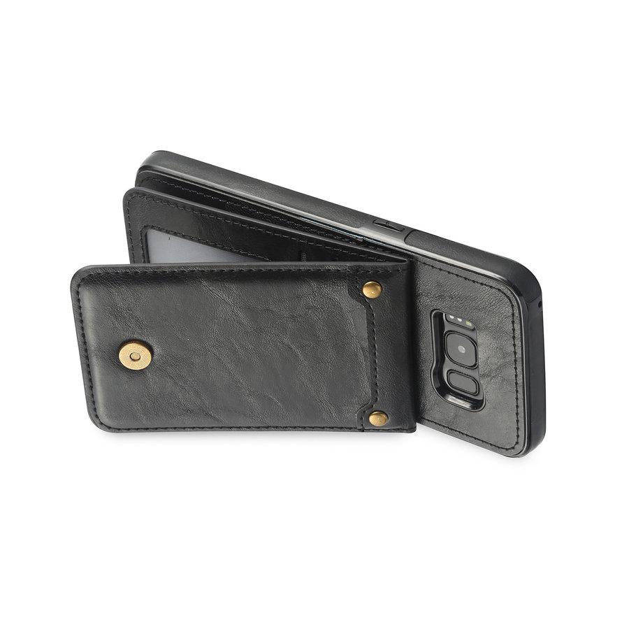 Samsung S8 Leer flip telefoonhoesje-4