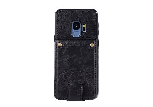Samsung S9 Leer flip telefoonhoesje